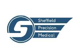 Sheffield Precision Medical Logo - Fruition Designs